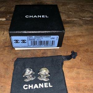 Beautiful Chanel crystal studs!